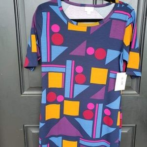 Nwt Lularoe Medium Julia Dress